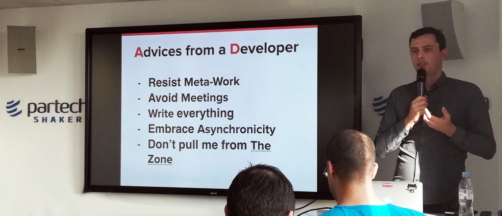 Tech workflows with startups, advice from Le Wagon coding school